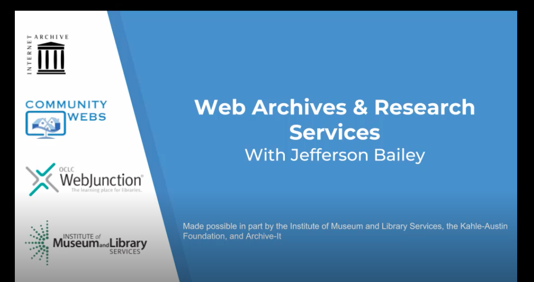 Jefferson Bailey Presentation